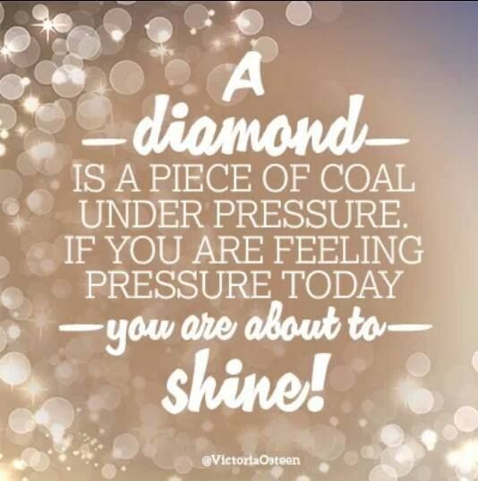diamonds under pressure
