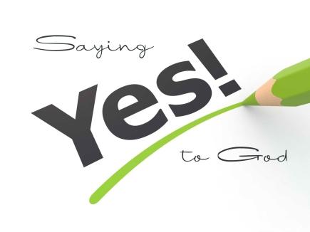 saying yes to jesus