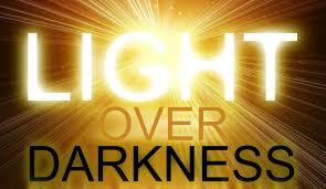 light over darkness