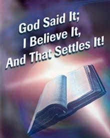 god said it 2