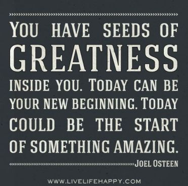 seeds of greateness