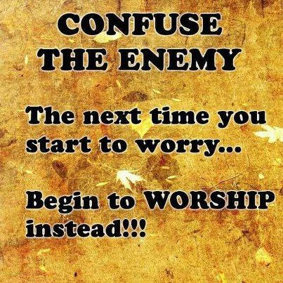 worry to worship