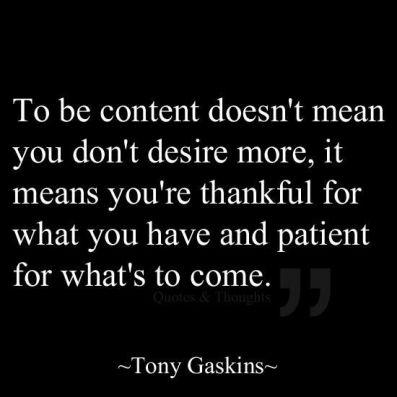 contentment 2