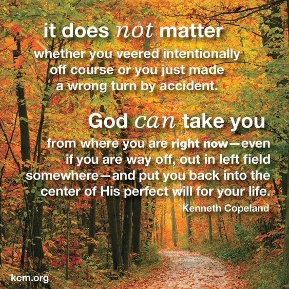 let god in