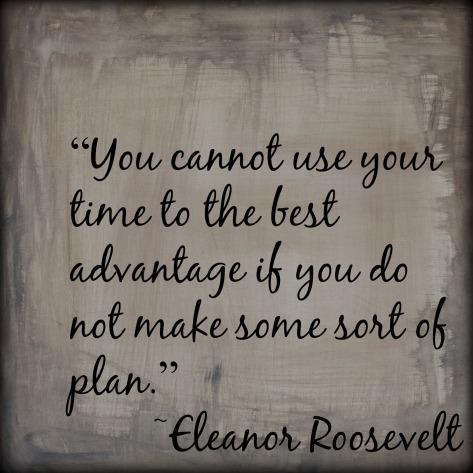 make plan