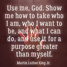use me god