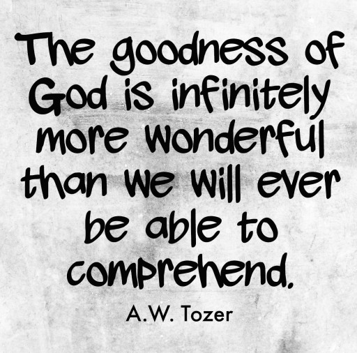 goodness of god image
