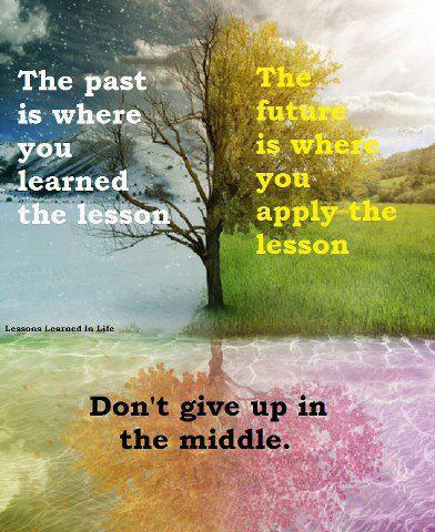 learn your lesson