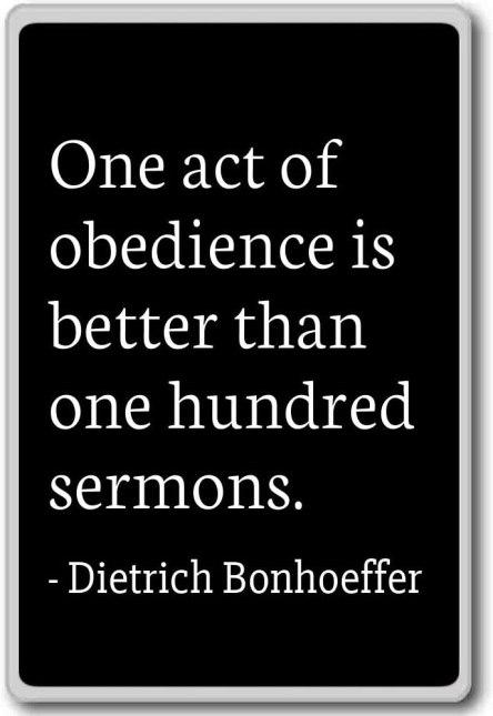 obedidence
